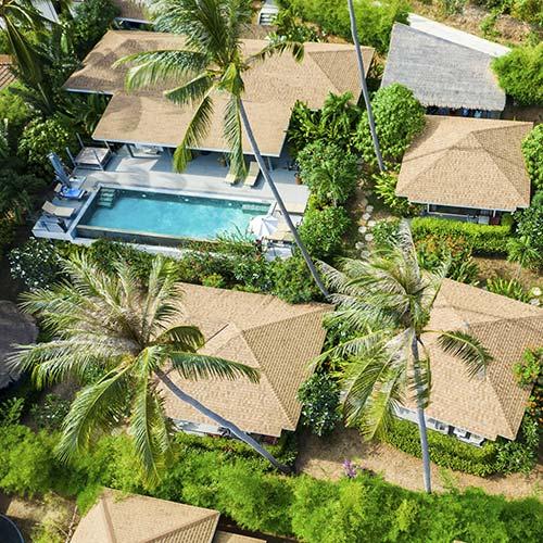 Orchid Lodge Koh Samui - Résidence privée de 5 bungalows
